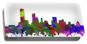 Oklahoma City Skyline Painted Portable Battery Charger