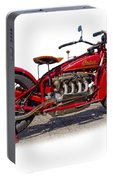 Old 1930's Indian Motorcycle Portable Battery Charger