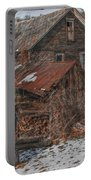 Old Abandoned Farm Homestead Portable Battery Charger