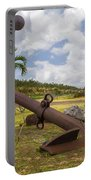 Old Anchor In Kauai Portable Battery Charger