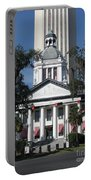 Old And New State Capitol Portable Battery Charger