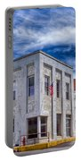 Old Bank Building - Peterstown West Virginia Portable Battery Charger