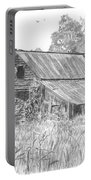 Old Barn 4 Portable Battery Charger by Barry Jones