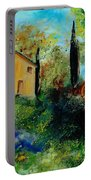 Old Barn In Provence  Portable Battery Charger