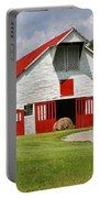 Old Barn Portable Battery Charger by Kristin Elmquist