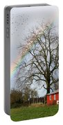 Old Barn Rainbow Portable Battery Charger