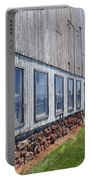 Old Barn Windows Portable Battery Charger