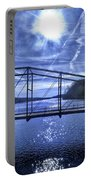 Old Bridge Over The Savannah River 001 Portable Battery Charger