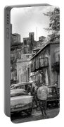 Old Buildings And Cars In Havana - V2 Portable Battery Charger