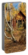Old Cabin In The Aspens Portable Battery Charger