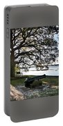 Old Cannon By The Sea Portable Battery Charger