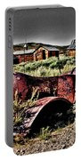 Old Car At Bodie Portable Battery Charger