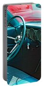 Old Car Interior Portable Battery Charger