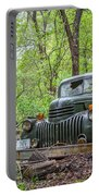 Old Chevy Oil Truck 1  Portable Battery Charger