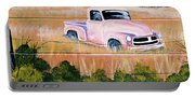 Old Chevy Truck Portable Battery Charger