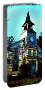 Old Church At Oxford Maryland Portable Battery Charger
