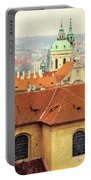 Old Church In Prague Portable Battery Charger