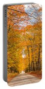 Old Coach Road Autumn Portable Battery Charger