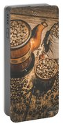 Old Coffee Brew House Beans Portable Battery Charger