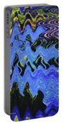 Old Columbia River Water Front Abstract Portable Battery Charger