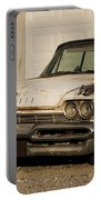 Old Desoto In Sepia Portable Battery Charger
