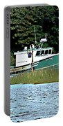 Old Dog On Bass River Portable Battery Charger