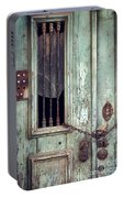 Old Door Detail Portable Battery Charger