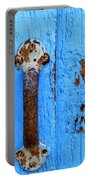 Old Door Photograph Portable Battery Charger