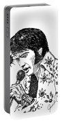 Old Elvis Portable Battery Charger