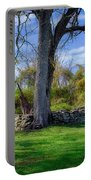 Old Family Plot In Cromwell Valley Park Portable Battery Charger
