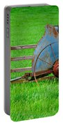 Old Farm Equipment Portable Battery Charger