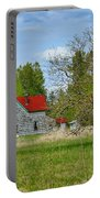 Old Farm House In Langley Portable Battery Charger