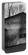 Old Farmer's Market Shed Portable Battery Charger