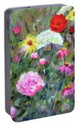 Old Fashioned Garden Portable Battery Charger