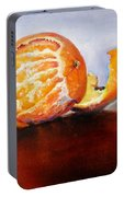Old Fashioned Orange Portable Battery Charger