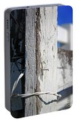 Old Fence Post Portable Battery Charger