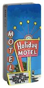 Old Fifties Vegas Hotel Sign Painting Portable Battery Charger