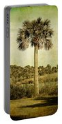 Old Florida Palm Portable Battery Charger