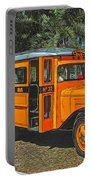 Old Ford School Bus No. 32 Portable Battery Charger