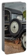 Old French Truck Portable Battery Charger