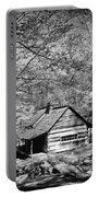 Old Frontier Cabin  Portable Battery Charger