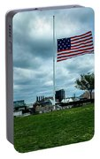 Old Glory Over Baltimore Portable Battery Charger