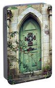 Old Gothic Door Portable Battery Charger