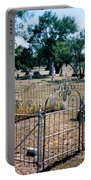 Old Grave Site 2 Portable Battery Charger