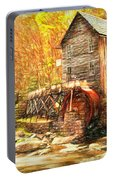 Old Grist Mill Portable Battery Charger