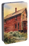 Old House Animas Forks Colorado Portable Battery Charger