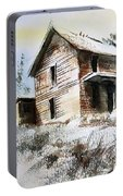 Old House Marysville Ghosttown Montana Portable Battery Charger
