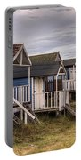 Beach Huts At Old Hunstanton Portable Battery Charger