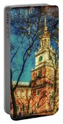 Old Independence Hall Portable Battery Charger