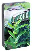 Old John Deere Portable Battery Charger